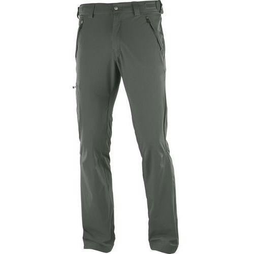 Salomon wayfarer spodnie długie mężczyźni regular zielony 54 2018 spodnie turystyczne