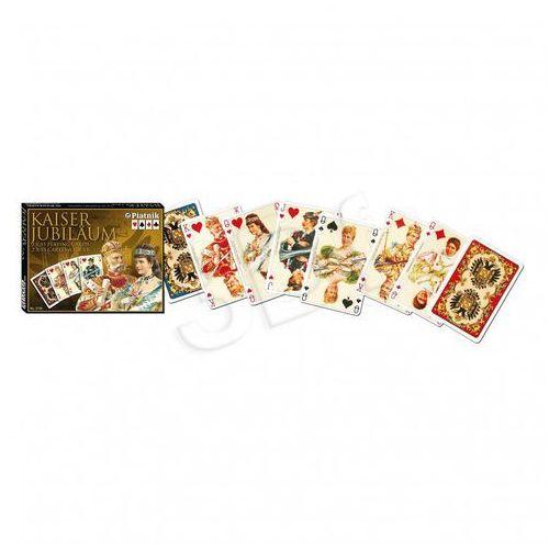 Karty do gry Piatnik 2 talie lux Kaiser (9001890213847)