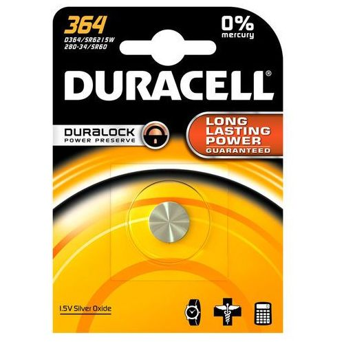 Duracell Bateria srebrowa mini  364-363 / g1 / sr621sw