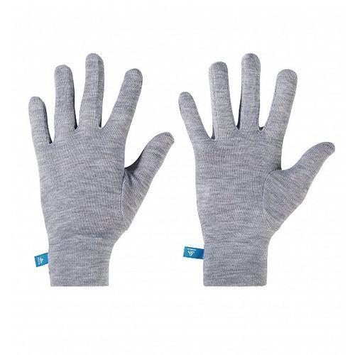 Odlo Rękawiczki termoaktywne warm kids szare