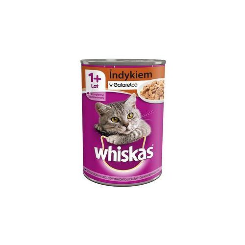 adult indyk - puszka 24x400g + dreamies snacky mouse 60g z zabawką gratis!!! marki Whiskas