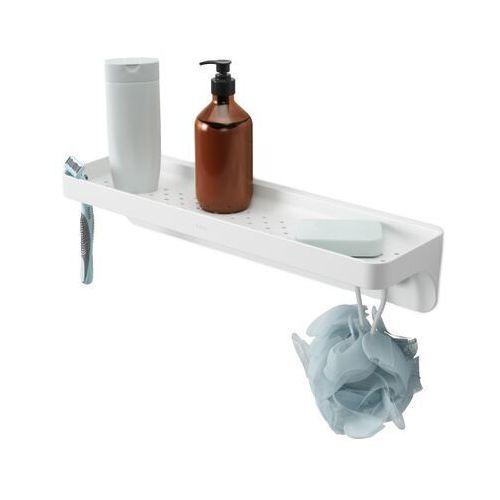 Półeczka pod prysznic Umbra Flex 42x12x9 cm white, 1013862-660