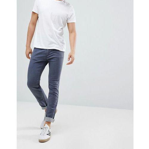 HUGO Skinny Fit Stretch Jeans In Grey - Grey, skinny