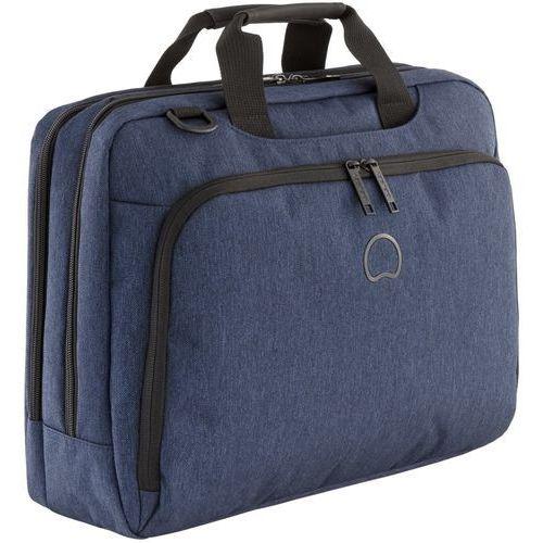 "Delsey Esplanade torba na ramię / laptop 15,6"" / Navy Blue - Navy Blue"