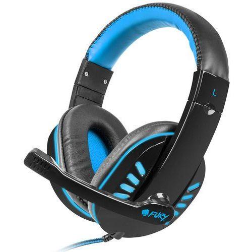 Natec Fury Słuchawki dla graczy NIGHTHAWK + mikrofon, 2 x Mini Jack 3,5 mm - NFU-0864
