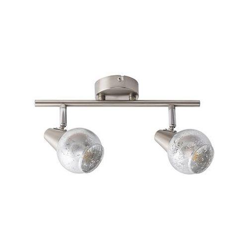 Listwa Rabalux Noelle 5924 lampa sufitowa 2x25W E14 chrom/satyna/srebrny