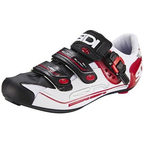 Sidi genius 7 buty mężczyźni biały/czarny 46,5 2018 buty szosowe zatrzaskowe (8017732483942)