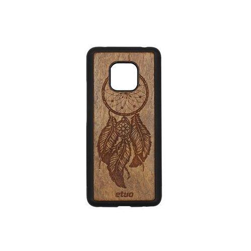 Huawei mate 20 pro - etui na telefon wood case - łapacz snów - imbuia marki Etuo wood case