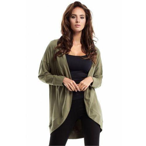 Sweter Damski Model MOE261 Khaki, kolor zielony
