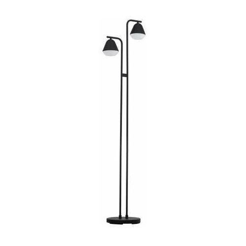 Eglo palbieta 99036 lampa stojąca podłogowa 2x3w gu10-led czarna/satyna