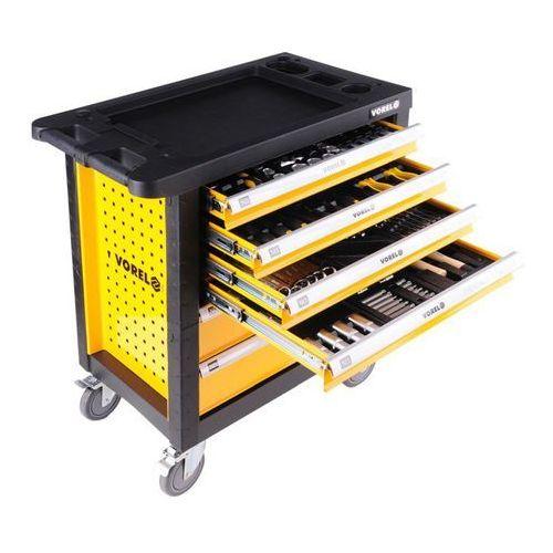 Vorel Szafka serwisowa ze 177 narzędziami, 6 szuflad / 58540 / - zyskaj rabat 30 zł