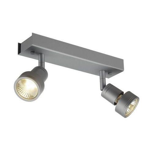 Spotline Reflektorek podwójny puri 2 srebrnoszary, 147374