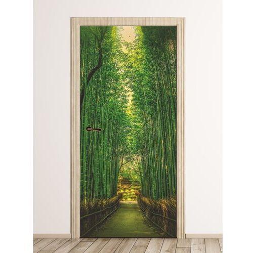 Fototapeta na drzwi bambusy fp 6158 marki Wally - piękno dekoracji