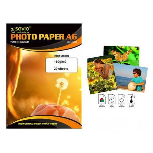SAVIO PA-05 A6 210g/m2 50 szt. blysk >> BOGATA OFERTA - SUPER PROMOCJE - DARMOWY TRANSPORT OD 99 ZŁ SPRAWDŹ! (5902768707229)