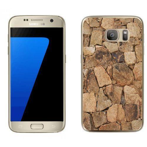 Samsung Galaxy S7 - etui na telefon - Kolekcja kamień - beżowy kamień - D20