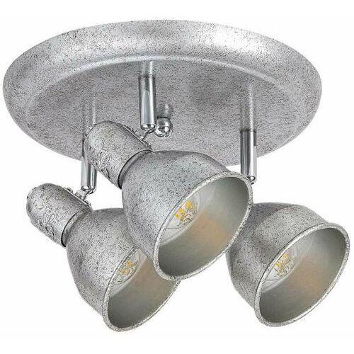 Rabalux Regulowana lampa sufitowa thelma 5388 metalowa oprawa reflektorki antyczne srebro (5998250353883)