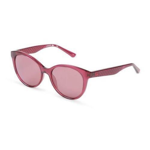 Okulary przeciwsłoneczne damskie l831s fioletowe marki Lacoste