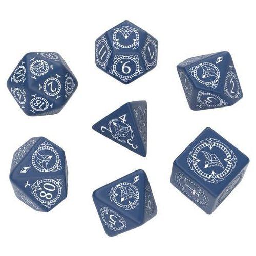 Komplet Kości - Pathfinder: Hell's Rebels - Niebiesko-biały (5907699493517)