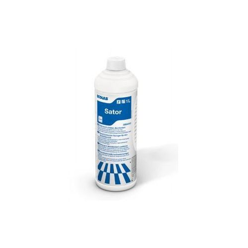Sator - usuwanie pleśni i osadów mydlanych w łazienkach marki Ecolab