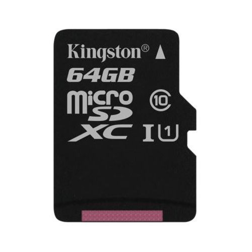 Kingston Karta pamięci canvas select microsdxc 64gb (0740617275858)
