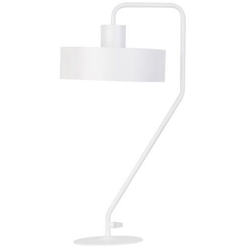 Stojąca LAMPA stołowa VASCO 50119 Sigma gabinetowa LAMPKA metalowa biała, 50119