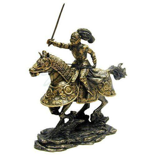 Bogato zdobiony rycerz na koniu (wu69715a4) marki Veronese