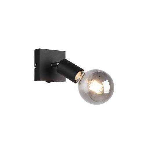 Trio RL Vannes R80181732 plafon lampa sufitowa 1x40W E27 czarny (4017807488999)