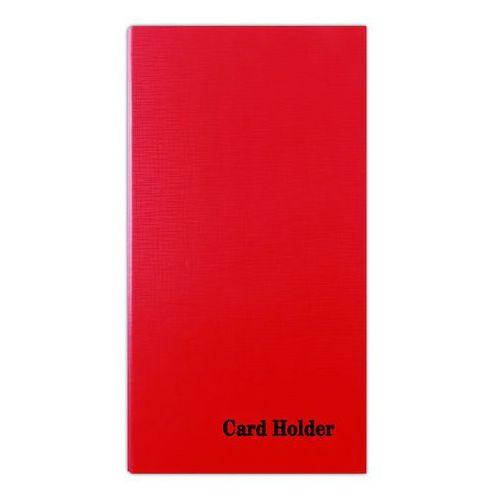 Wizytownik ringowy , na 500 wizytówek, z indeksem, czerwony marki Donau