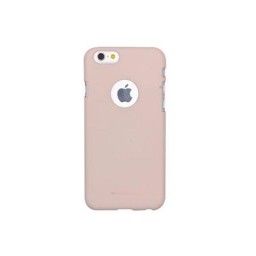 Apple iPhone 6s - etui na telefon Mercury Goospery Soft Feeling - piaskowy róż, ETAP230GMSFPIA000