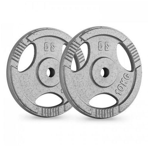CAPITAL SPORTS CP 10 obciążenia talerze para 30 mm 10 kg chromowane polerowane