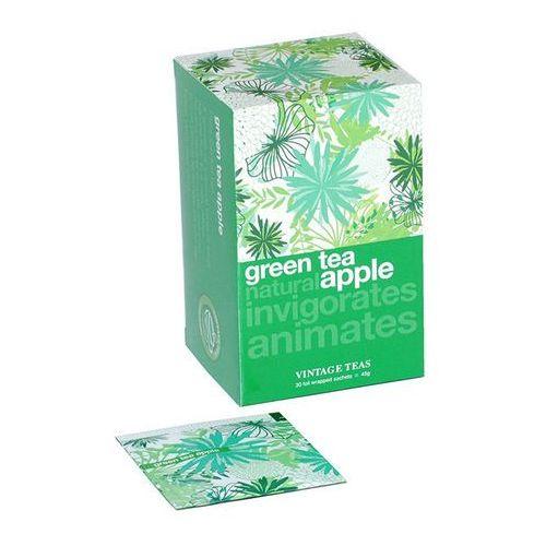 Zielona herbata Vintage Teas z aromatem jabłka - 30x1,5g