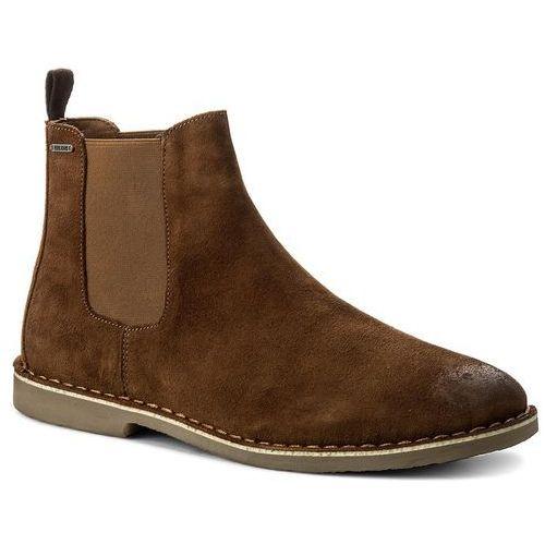 Pepe jeans Sztyblety - fenix chelsea pms50147 tobacco 859