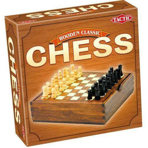 Tactic Wooden classic szachy