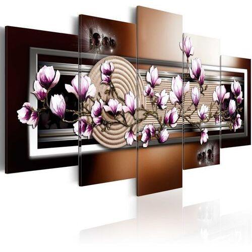 Artgeist Obraz - ogród zen i magnolia
