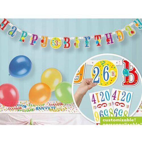 Baner happy birthday - 1 szt. marki Unique