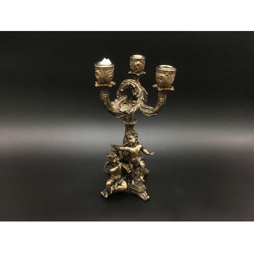 Veronese Potrójny świecznik z aniołami (wu74375a4)