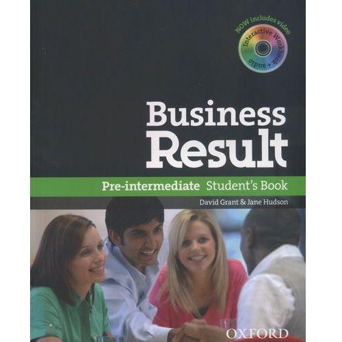Business Result Pre-Intermediate. Podręcznik + DVD (160 str.)