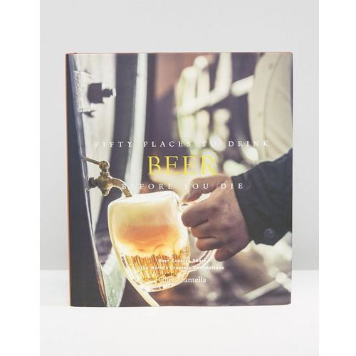 Fifty places to drink beer before you die book - multi wyprodukowany przez Books