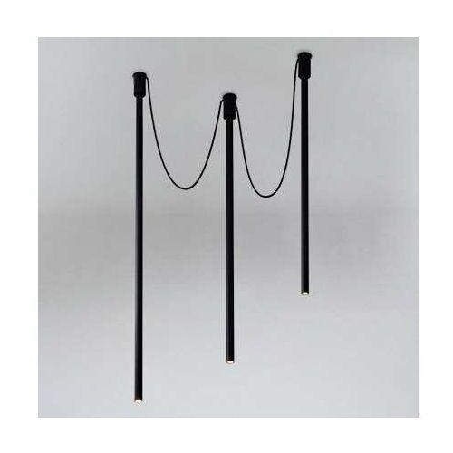 LAMPA sufitowa ALHA Y 9003 Shilo tuba OPRAWA downlight sople czarne, 9003