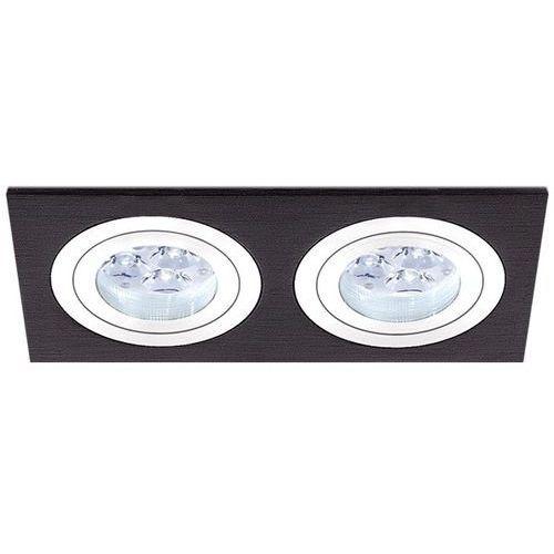 Oczko podwójne mini catli aluminium szczotkowane czarne gu10, 3055gu marki Bpm lighting
