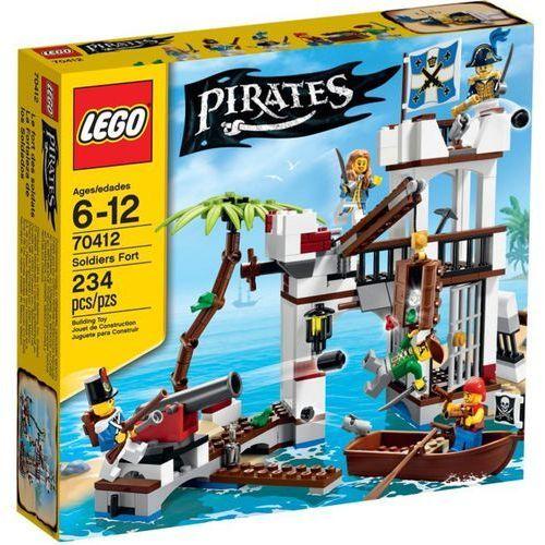 Lego PIRATES Pirates żołnierska forteca 70412