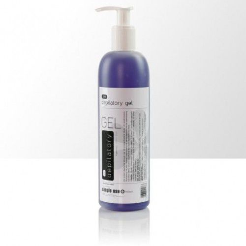 Splendore Simple use delikatnie znieczulający żel przed depilacją 400 ml