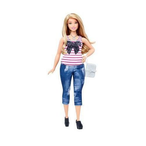 dtf00 fashionistas 37 everyday chic doll & fashions - curvy lalka z ubrankami 3+ marki Barbie