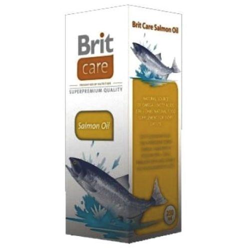BRIT CARE Olej z łososia dla psów i kotów poj. 250-1000ml - sprawdź w wybranym sklepie