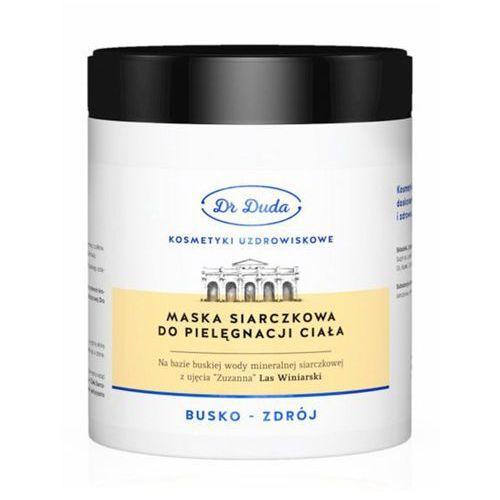 Dr duda Buska maska siarczkowa - (pojemność: buska maska 200ml)