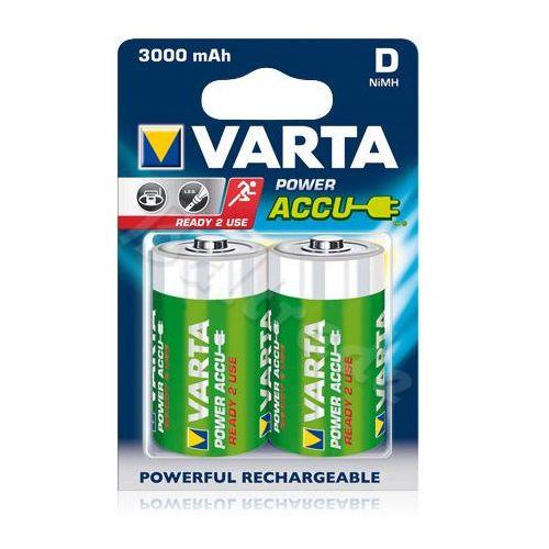 2 x akumulatorki Varta R20 D R2U Ni-MH 3000mAh
