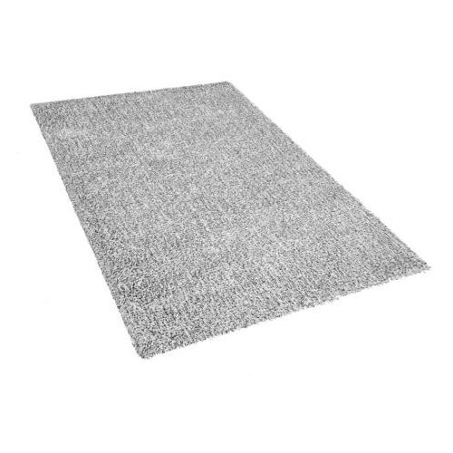 Beliani Dywan szary melanż 140 x 200 cm shaggy demre (7105276739470)