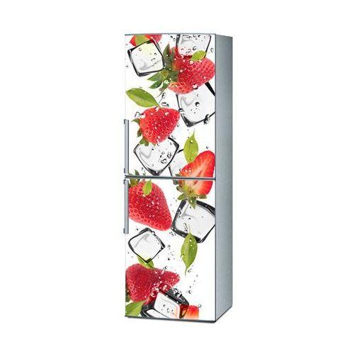 Stikero Mata magnetyczna na lodówkę - truskawki z lodem 4234