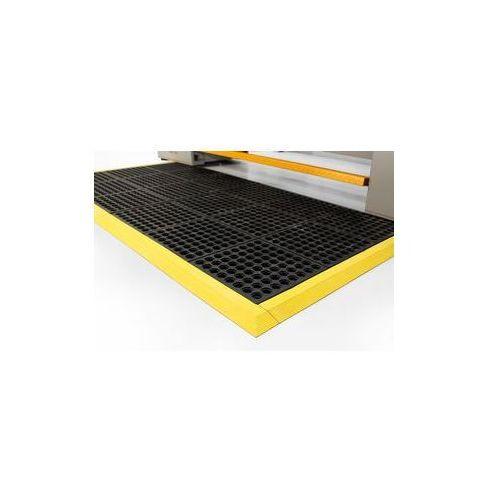 Wykładzina podłogowa do stanowisk pracy,z perforowaną powierzchnią, kauczuk naturalny marki Coba plastics