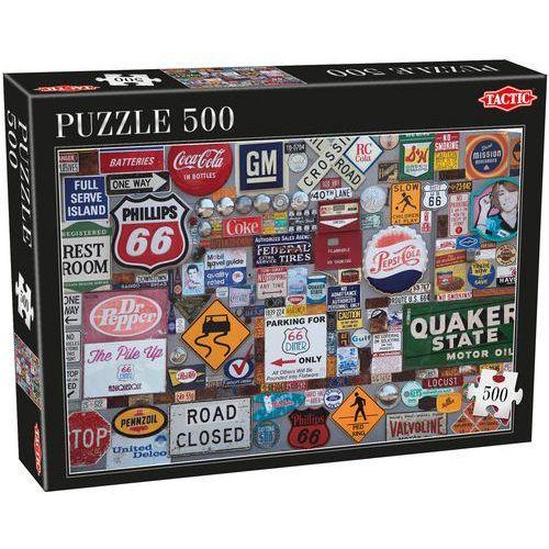 Niejedno logo puzzle 500 elementów marki Tactic